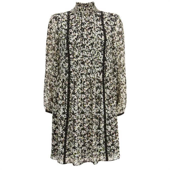 Mint Velvet Bonnie High Neck Mini Dress