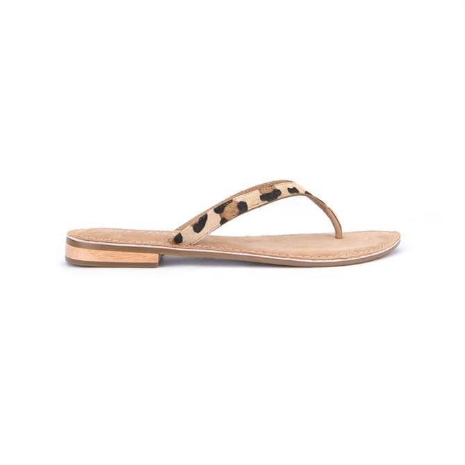 Mint Velvet Ellen Leopard Flip Flop