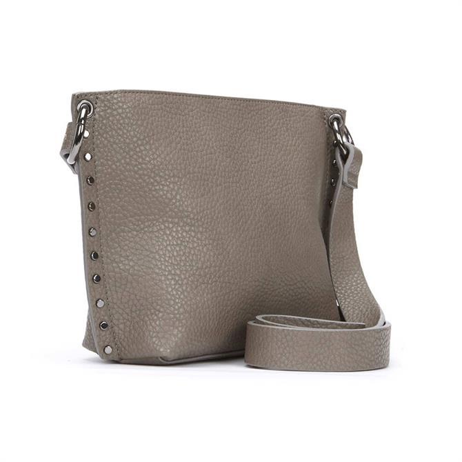 Mint Velvet Kirstie Grey Cross Body Bag