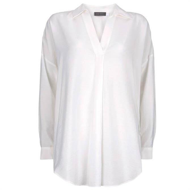 Mint Velvet Ivory Oversized Shirt