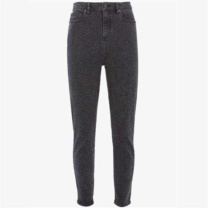 Mint Velvet Joliet Leopard Skinny Jeans