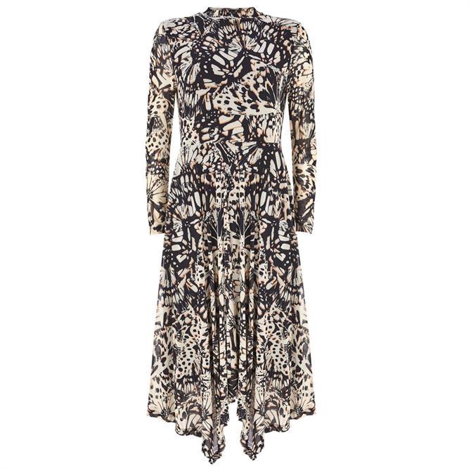 Mint Velvet Kelly Print Jersey Midi Dress