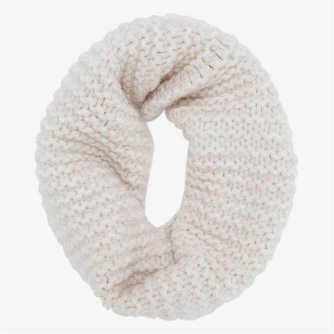 Mint Velvet Off-White Chunky Knitted Snood