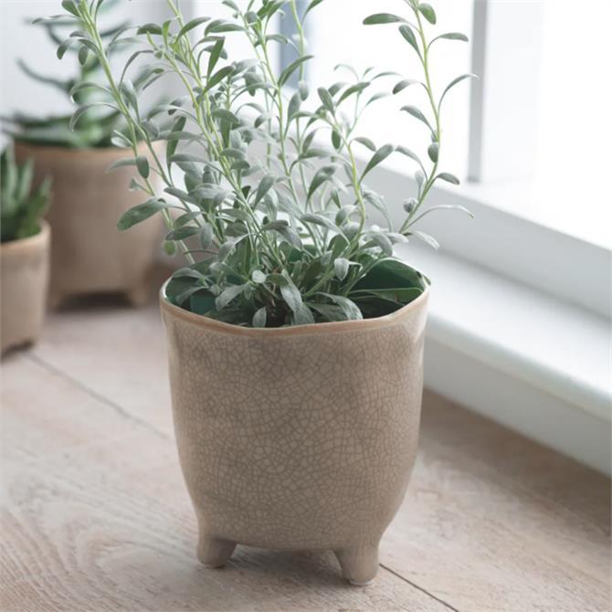 Garden Trading Positano Ceramic Stone Pot Large