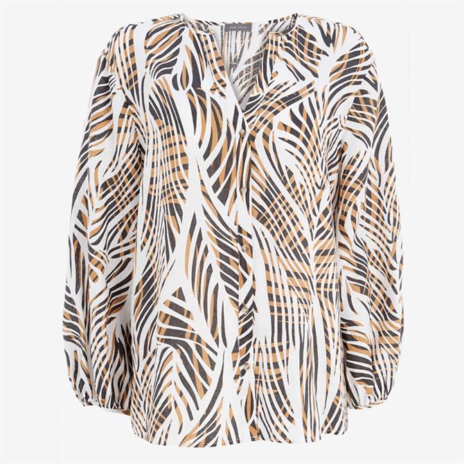Mint Velvet Jayda Linen Long Sleeve Blouse