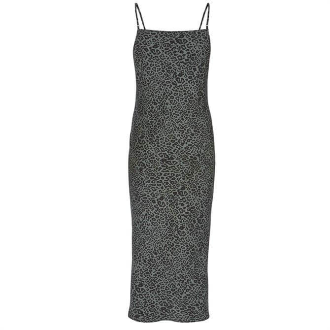 Mint Velvet Philippa Leopard Slip Dress