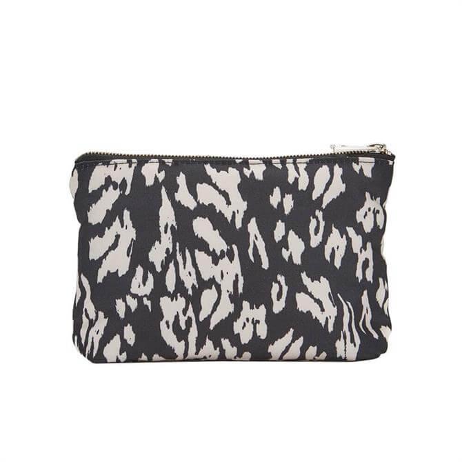 Mint Velvet Lily Animal Print Make-Up Bag