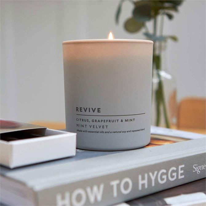 Mint Velvet Revive Citrus & Mint Candle