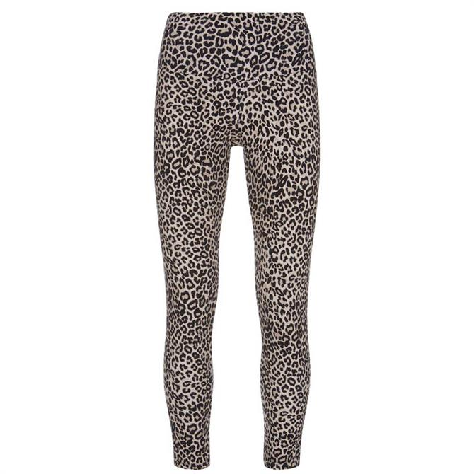 Mint Velvet Neutral Animal Print Leggings