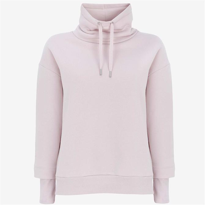 Mint Velvet  Lilac Ribbed Sweatshirt