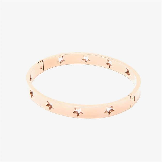 Mint Velvet Rose Gold Plated Star Bracelet