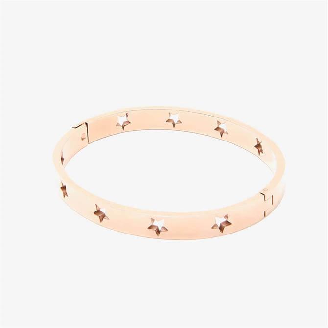 Mint Velvet Rose Gold Plated Star Bracelet