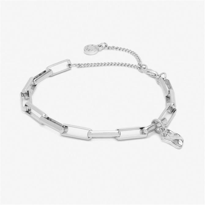 Mint Velvet Silver Chain Charm Bracelet