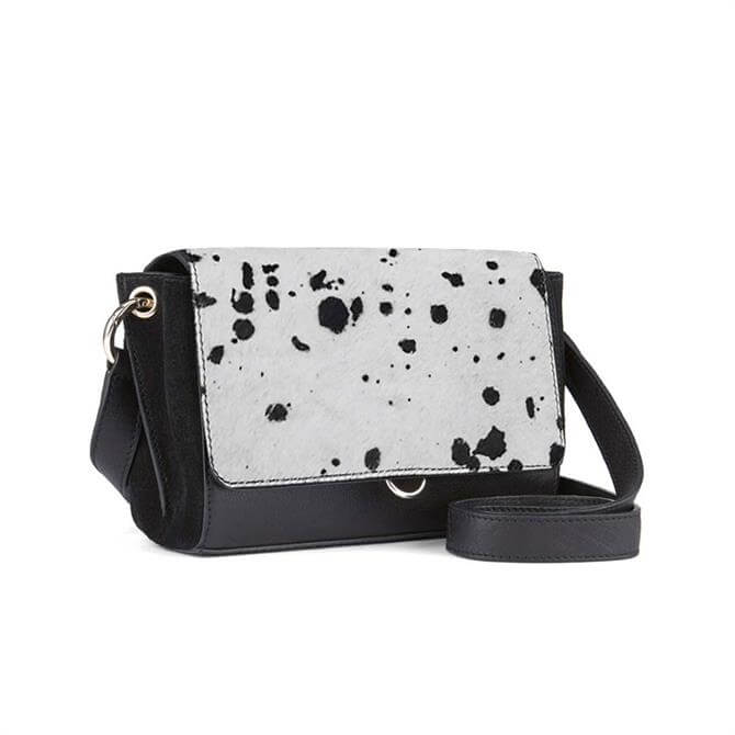 Mint Velvet Tia Dalmatian Leather Bag