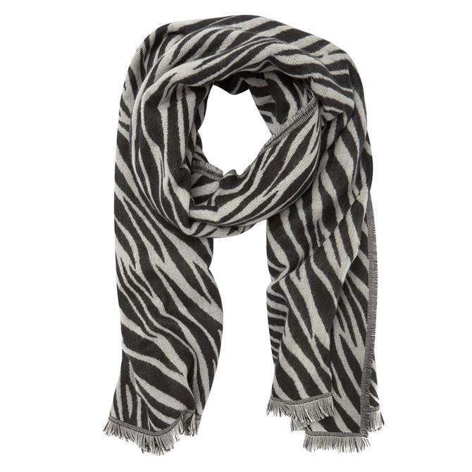 Mint Velvet Zebra Jacquard Scarf