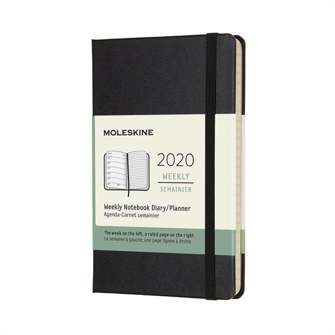 Moleskine Week to View Pocket Hardcover Diary 2020