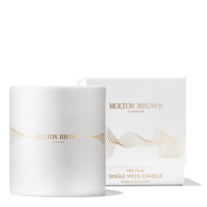 Molton Brown Milk Musk Single Wick Candle 180g