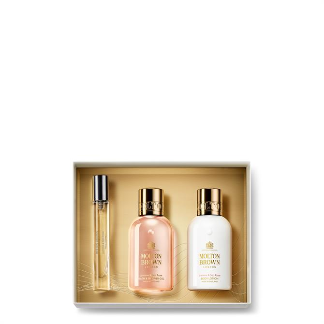 Molton Brown Jasmine & Sun Rose Fragrance Luxuries Gift Set