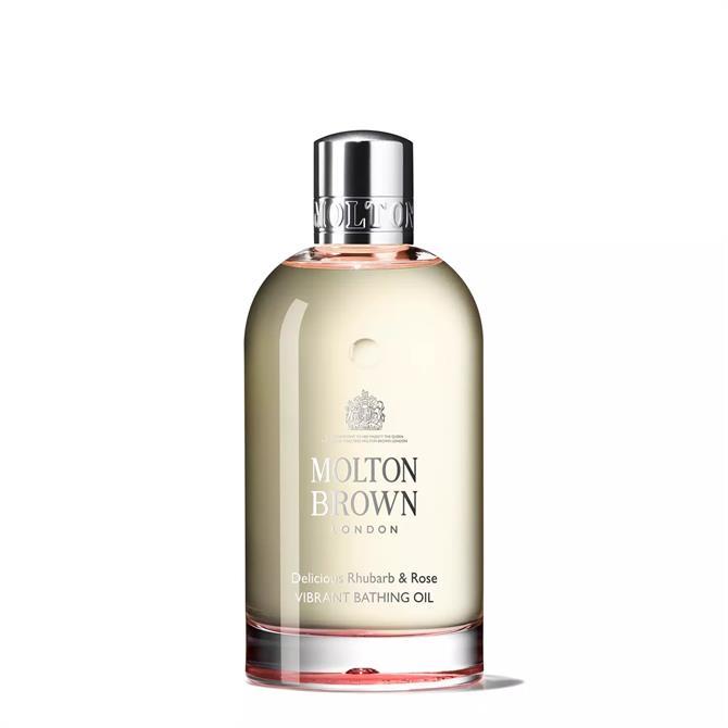 Molton Brown Delicious Rhubarb & Rose Bathing Oil 200ml