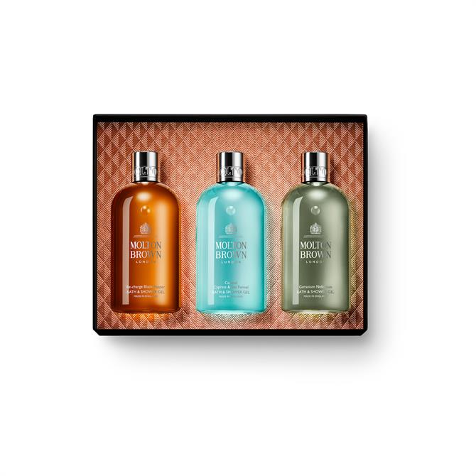 Molton Brown Spicy & Aromatic Body Wash Christmas Collection For Him x3 300ml