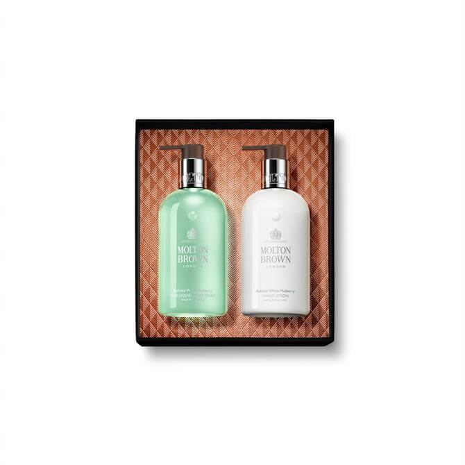 Molton Brown Refined White Mulberry Christmas Hand Collection x2 300ml