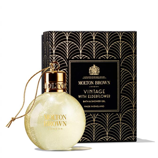 Molton Brown Vintage With Elderflower Festive Shower Gel Bauble 75ml