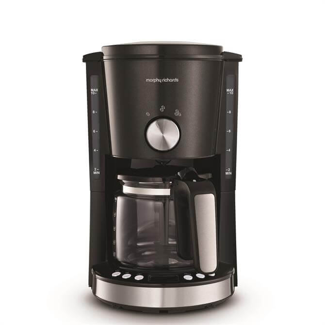 Morphy Richards Evoke Black Filter Coffee Machine
