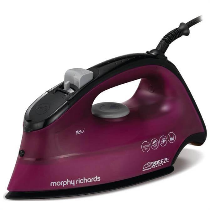 Morphy Richards Purple Breeze Steam Iron