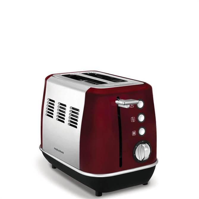 Morphy Richards Evoke Red 2 Slice Toaster
