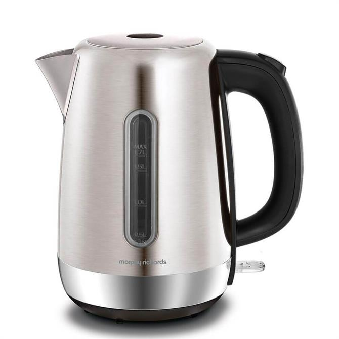 Morphy Richards Brushed Stainless Steel Equip Jug Kettle