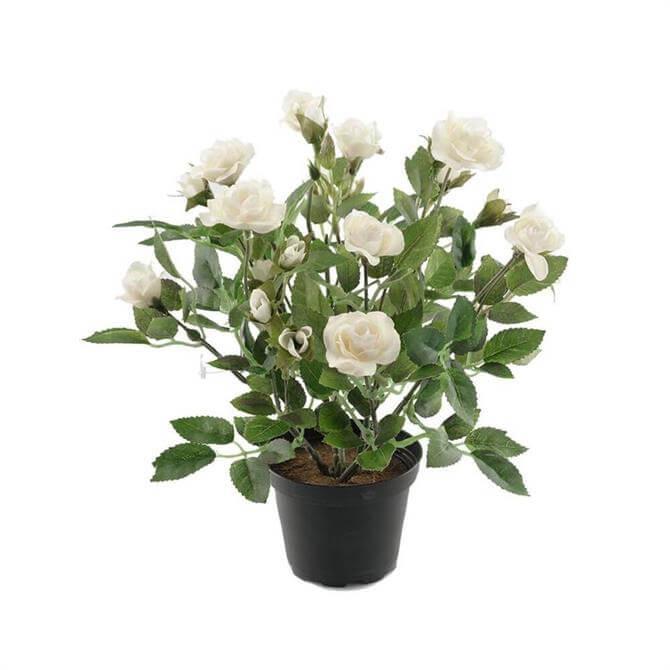 Artificial Rose In Pot