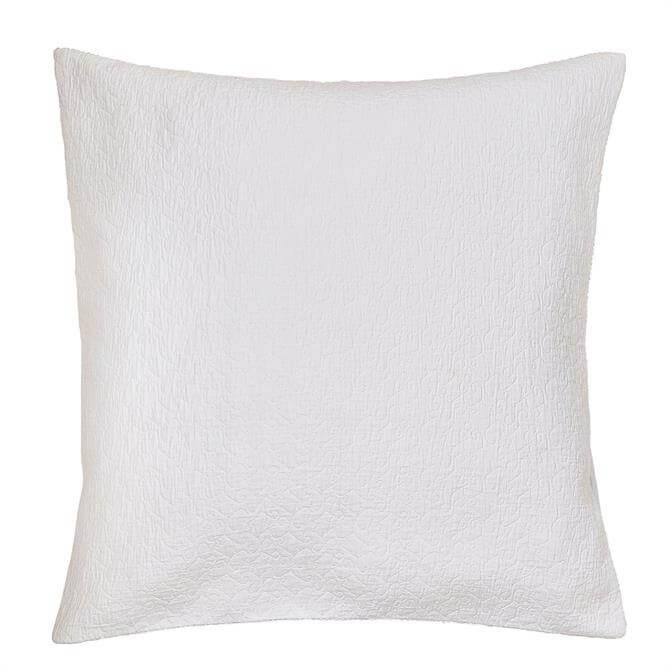 Murmur Ebba Sham White Pillowcase