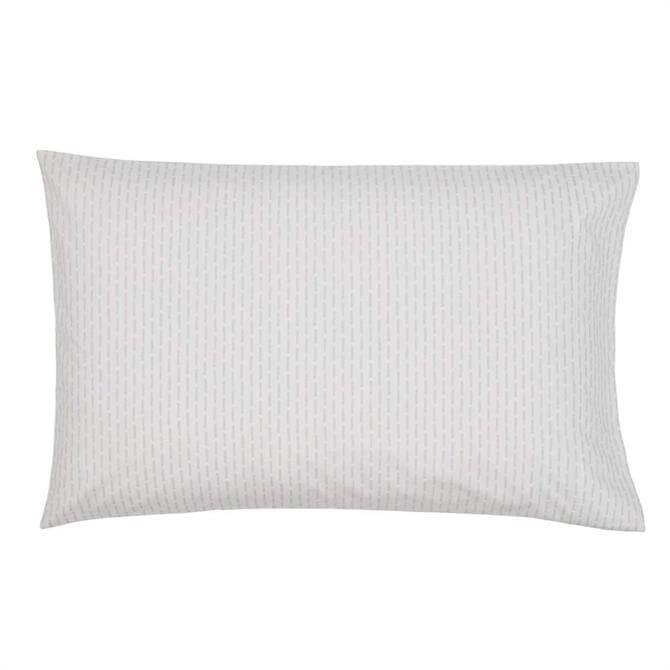 Murmur Silva Pair of Organic Cotton Standard Pillowcases
