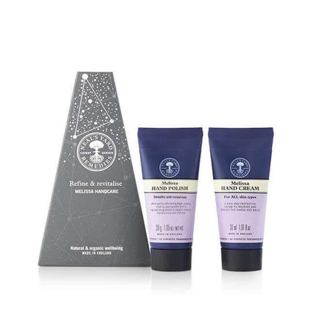 Neal's Yard Remedies Refine & Revitalise Melissa Handcare Duo Set