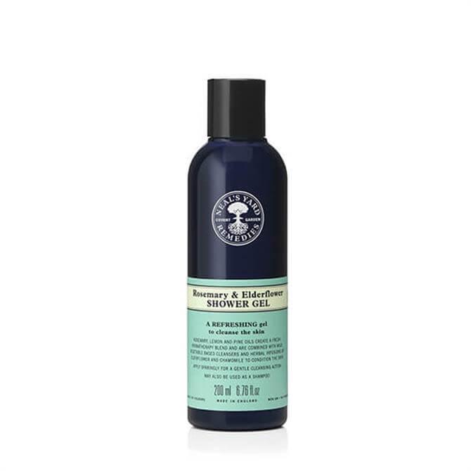 Neal's Yard Remedies Rosemary and Elderflower Shower Gel 200ml