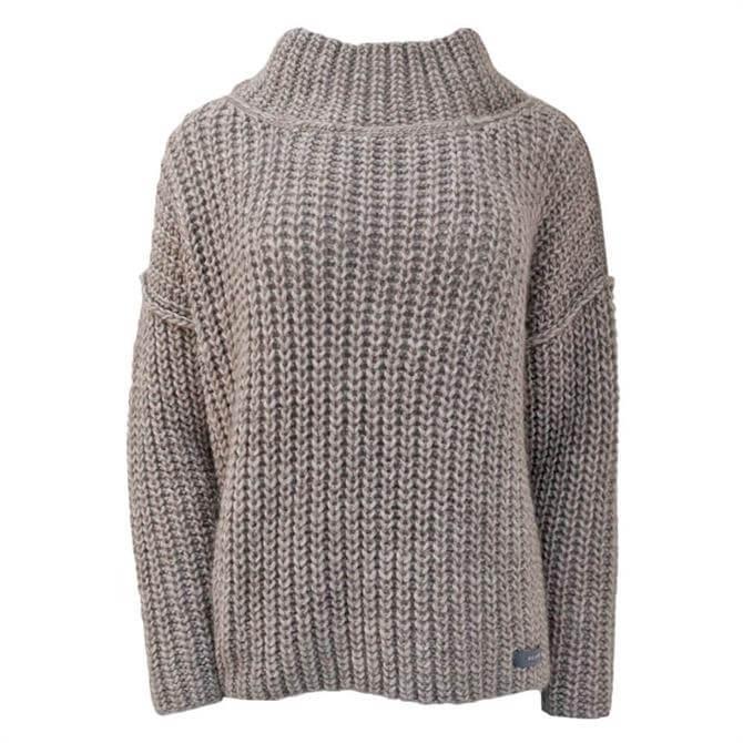 Neirami Turtleneck Knitted Sweater