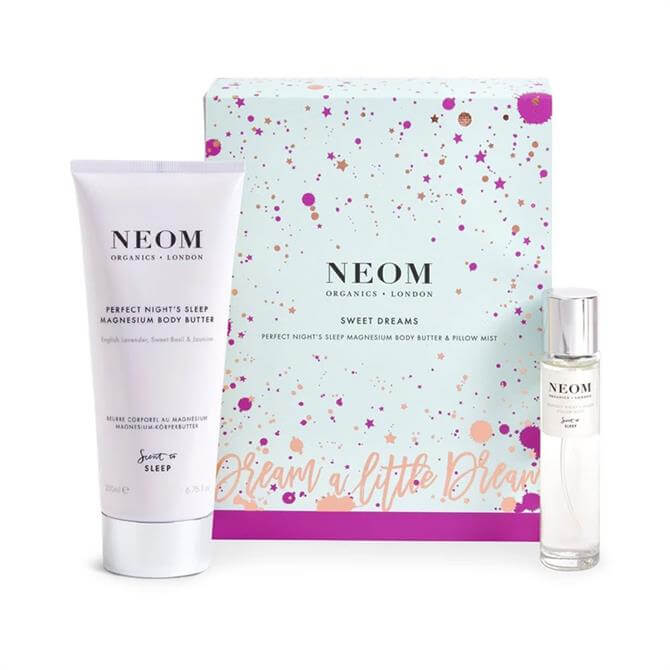 Neom Sweet Dreams Gift Set Body Butter & Pillow Mist