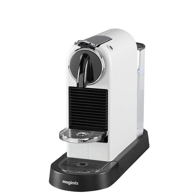 Nespresso Citiz Magimix White Coffee Machine