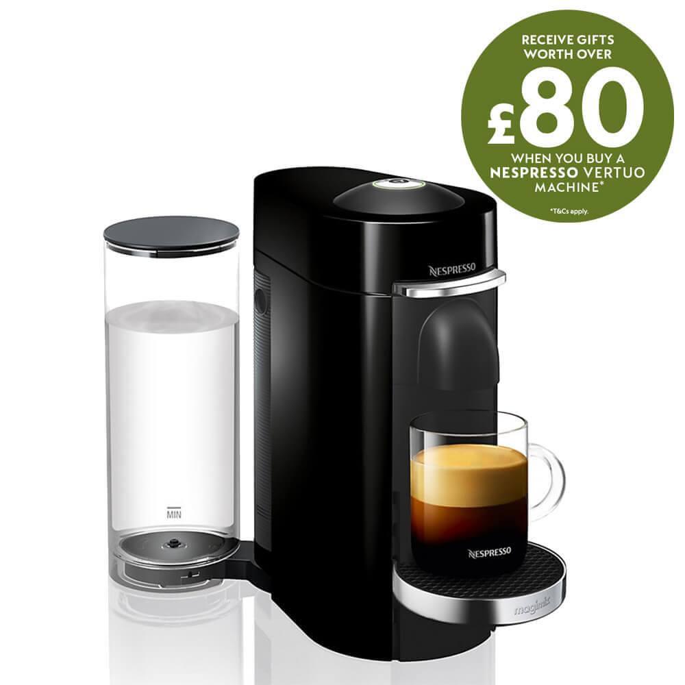 MachinePiano Nespresso Vertuo Coffee Plus Black Magimix wXukZTPOi