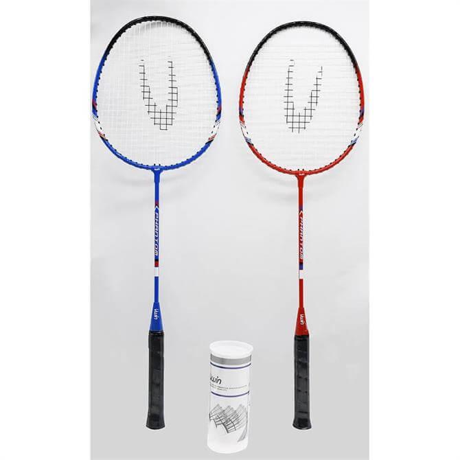 Uwin Phantom 2 Player Badminton Racket Set