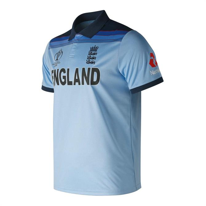 New Balance England Cricket World Cup 2019 Champions Men's Replica Shirt