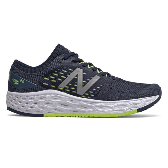 New Balance Men's Fresh Foam Vongo v4 Running Shoe - Natural Indigo/Lemon Slush