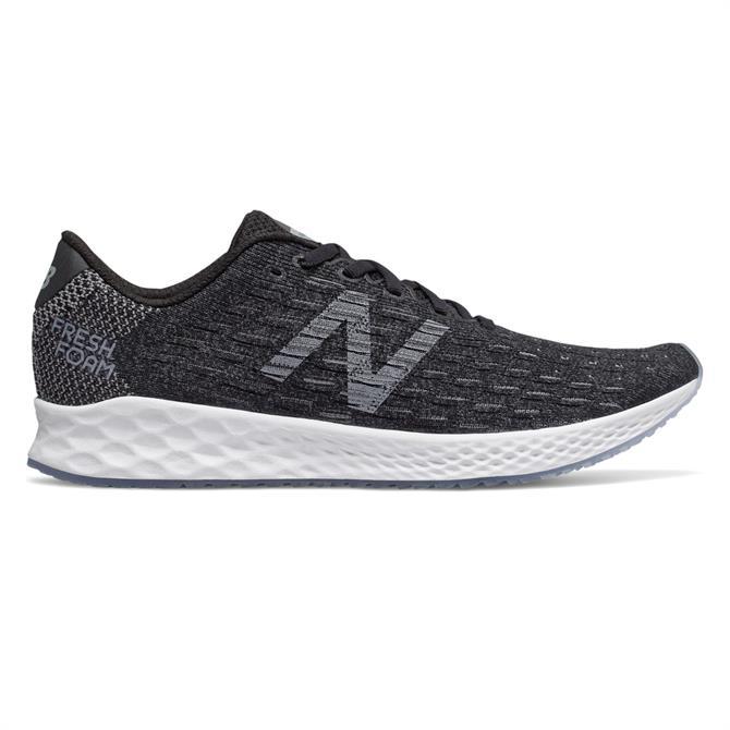 New Balance Men's Fresh Foam Zante Pursuit Running Shoe - Black/Castlerock/White