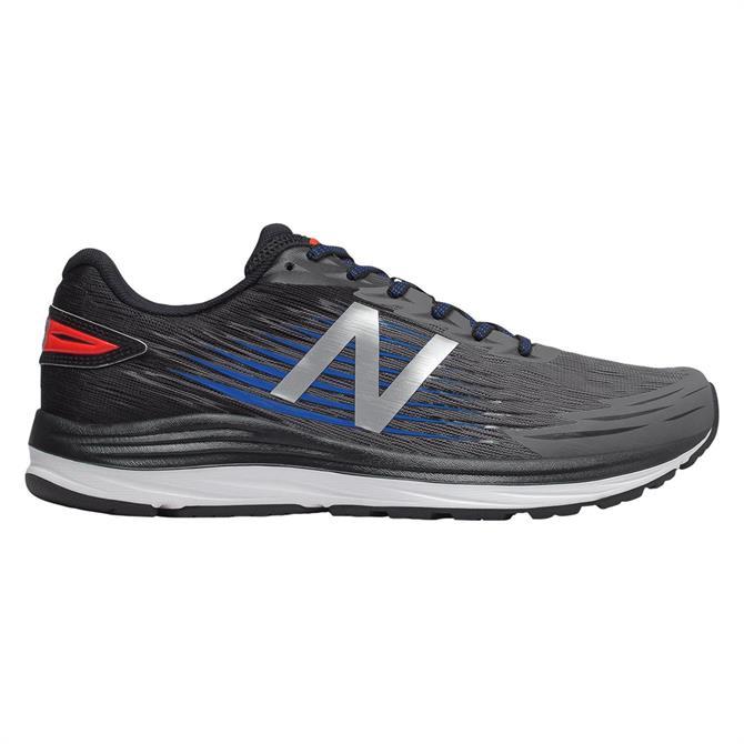 New Balance Men's Synact Running Shoe - Black/Silver
