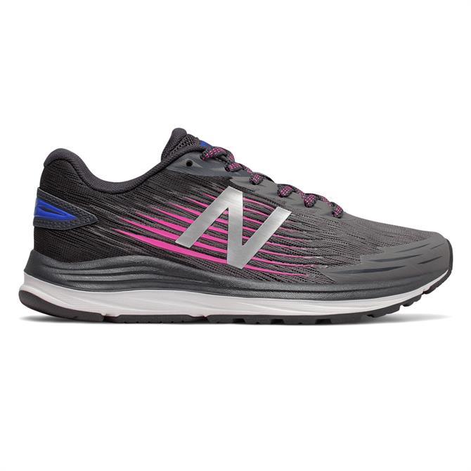 New Balance Women's Synact Running Shoe - Black/Pink/Blue