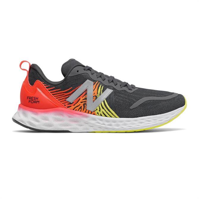 New Balance Fresh Foam Tempo Men's Running Shoe - Grey/Red