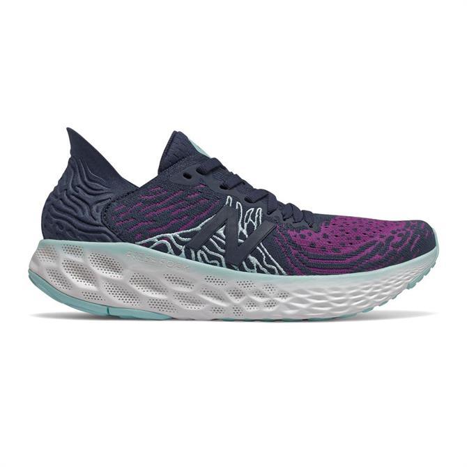 New Balance Women's Fresh Foam 1080 v10 Running Shoe - Indigo/Purple
