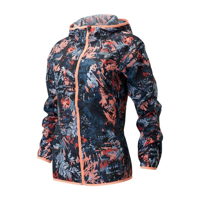 New Balance Women's Printed Windcheater Jacket 2.0