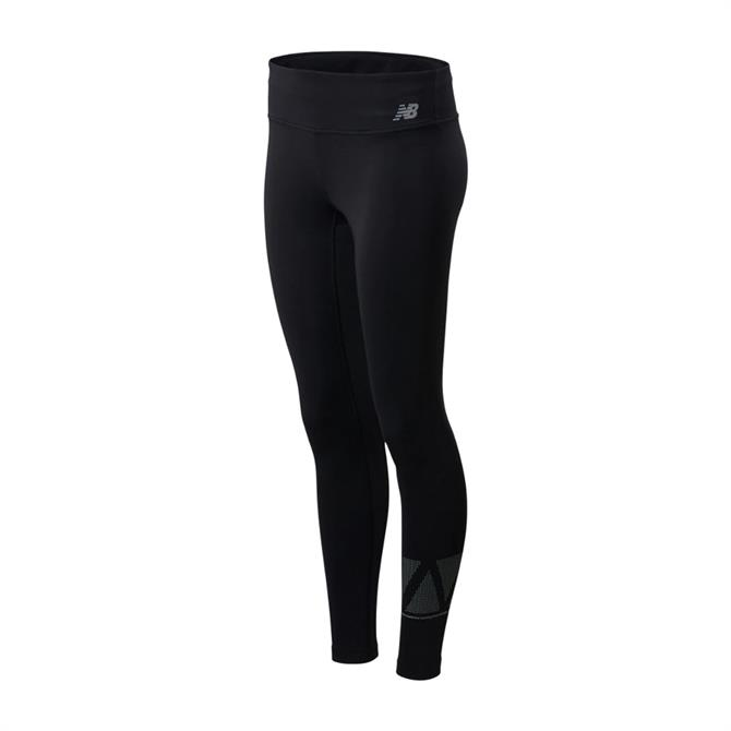 New Balance Women's Reflective Accelerate Tight - Black
