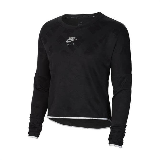 Nike Air Women's Long-Sleeve Running Top - Black